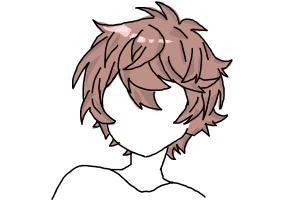 How to Draw Anime Boy Hair