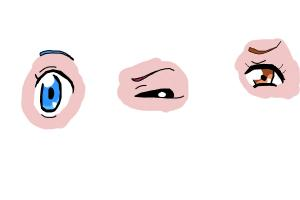 how to draw anime eyes manga