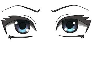 How to draw anime wolves drawingnow how to draw anime eyes step by step ccuart Image collections