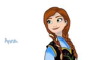How to draw Anna