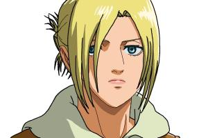 How to Draw Annie Leonhart from Shingeki No Kyojin