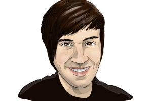 How to draw Anthony Padilla from Smosh