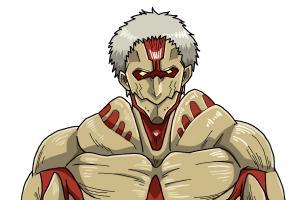 How to Draw Armored Titan from Shingeki No Kyojin