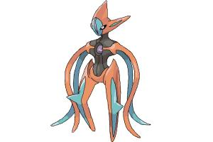 How to draw Attack Form Deoxys