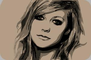 How to Draw Avril Lavigne