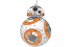 How to Draw Bb-8 from Star Wars Vii