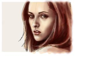 How to Draw Bella Swan from Twilight