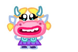 How to Draw Betty from Moshi Monsters