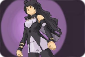 How to Draw Blake Belladonna from Rwby