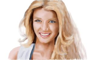 How to draw Blake Lively