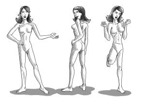 How to draw body proportions