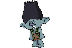 How to draw poppy from trolls movie drawingnow how to draw branch from trolls movie ccuart Gallery