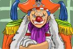 How to Draw Buggy The Clown from One Piece