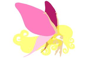 How to draw Butterfly Fairy