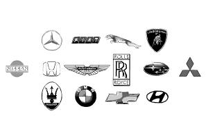 How to draw car logos