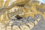 How to Draw Carlsbad Caverns