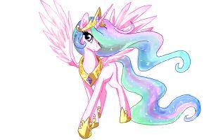How to draw Celestia (from My little pony)