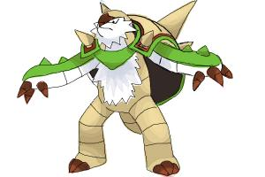 How to draw Chesnaught from Pokemon