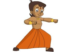 How to Draw Chhota Bheem