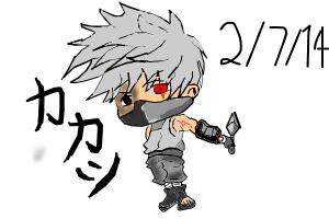How to Draw Chibi Kakashi