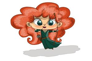 How to Draw Chibi Merida
