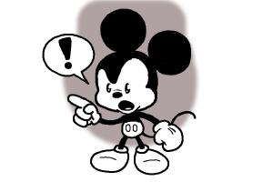 How to Draw Chibi Mickey Mouse