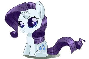 How to draw Chibi Rarity from My Little Pony Friendship is Magic