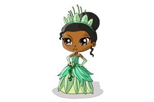 How to Draw Chibi Tiana