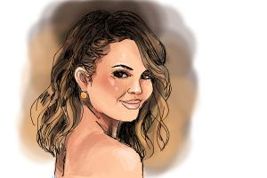 How to Draw Chrissy Teigen