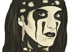 How to draw Christian Coma