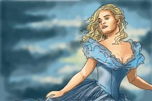 How to Draw Cinderella 2015