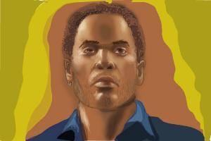How to Draw Cinna, Lenny Kravitz from The Hunger Games