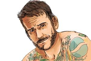 How to Draw Cm Punk