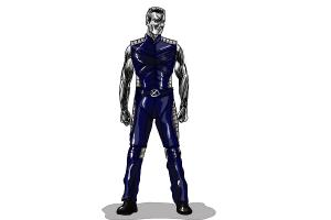 How to Draw Colossus, Daniel Cudmore from X-Men: Days Of Future Past