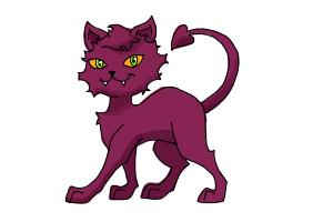 How to Draw Clawdeen Wolf Pet, Crescent