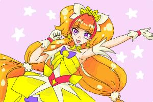 How to Draw Cure Twinkle, Kirara Amanogawa from Go! Princess Precure