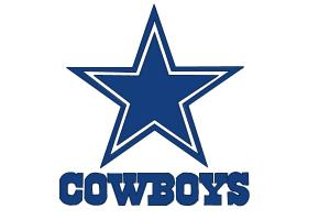 How to draw Dallas Cowboys Logo, NFL team logo