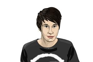 How to Draw Dan Howell