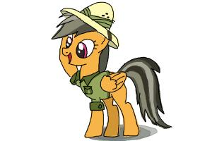 How to Draw Daring Do from My Little Pony Friendship Is Magic