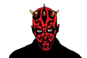 How to Draw Darth Maul - DrawingNow