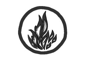 How to Draw Dauntless, The Brave Logo from Divergent