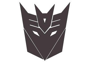 How to Draw Decepticon Logo from Transformers