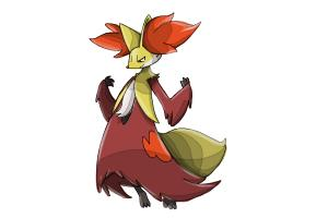 How to Draw Delphox from Pokemon