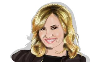 How to Draw Demi Lovato