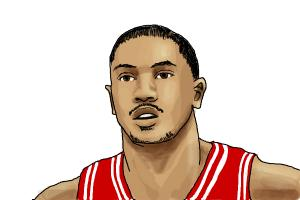 How to draw Derrick Rose