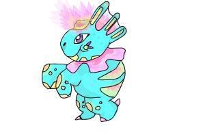 How to Draw Dino Shine Rose