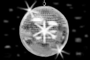 How to draw disco ball