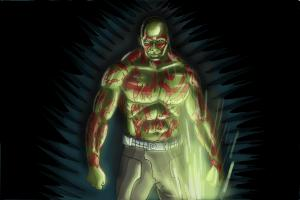 How to Draw Drax The Destroyer from Guardians Of The Galaxy