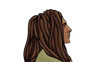 How to Draw Dreadlocks
