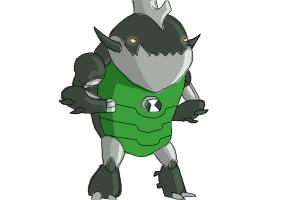 How to Draw Eatle from Ben 10 Omniverse